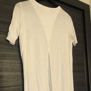 3/$40 Cheap Monday cotton T-shirt open back XXS